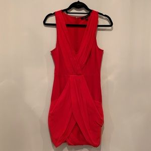 Cynthia Steffe Red Cocktail Dress - Size 4